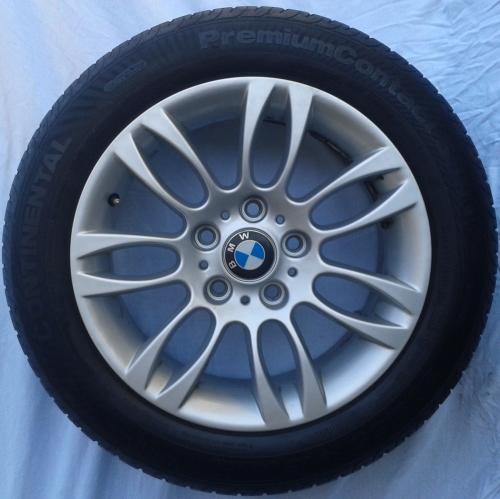 BMW 320 ORGINAL JANT & PATLAMAYAN LASTİK  16 INCH