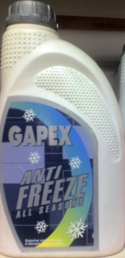GAPEX ANTIFREEZE 1LT